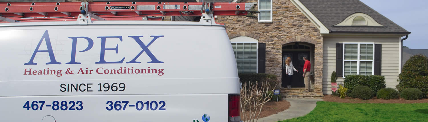 Apex Heating and Air Conditioning residential heating and air emergency repair service