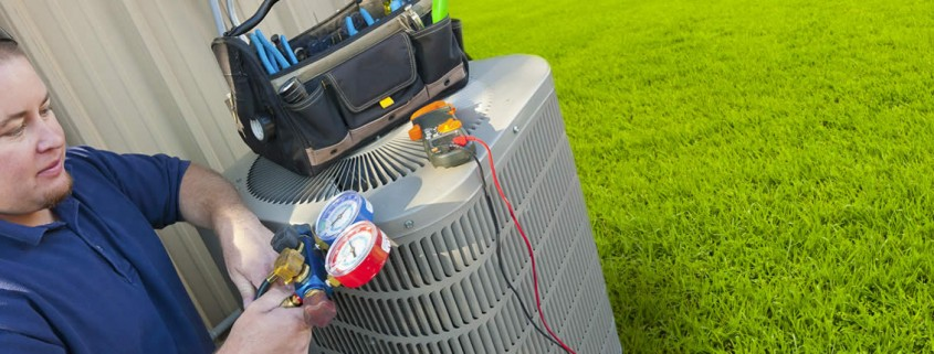 Residential Heat Pump HVAC Service Repair by Apex Heating and Air Conditioning