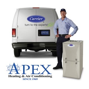 Carrier® and Apex Heating and Air Conditioning Service Call Technician