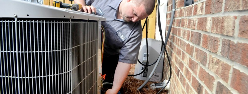 HVAC residential heating and air repair service